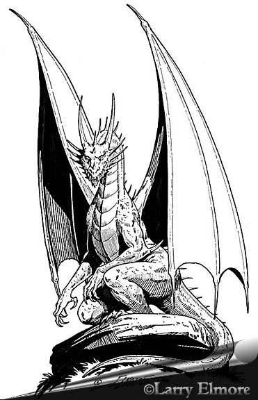 Драконы в карандаше Часть 2.
